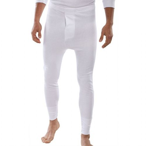 Click Thermal White Long Johns